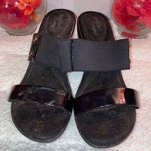 Deflex comfort 7.5W slip on casual heels